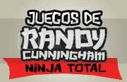 juegos de Randy Cunningham ninja total